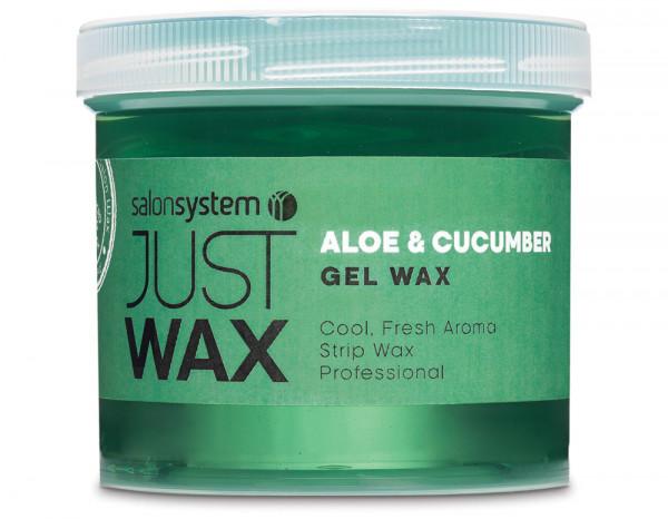 Just Wax spa gel wax 450g, aloe/cucumber