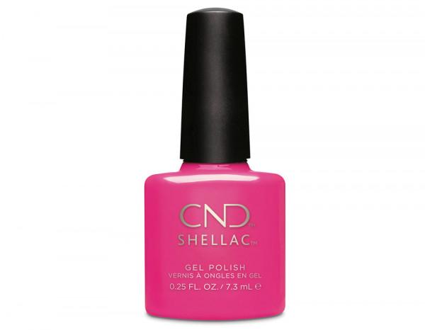 CND Shellac 7.3ml, Hot Pop Pink