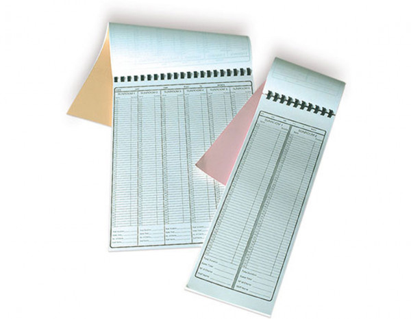 Appointment pad, 6 column