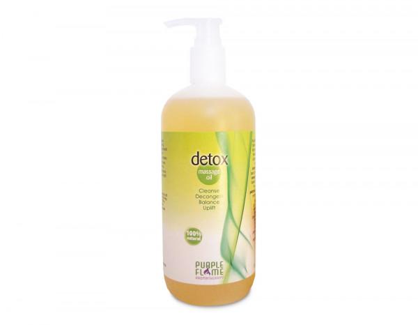 Purple Flame massage oil, detox 500ml