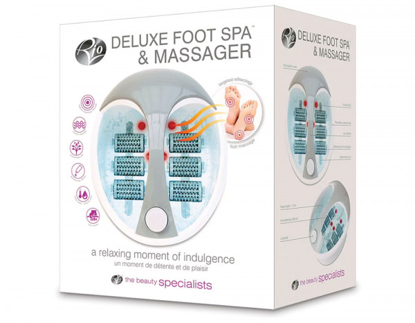 Deluxe foot spa and massager