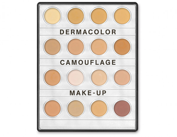 Dermacolor mini palette 16 colours, fair