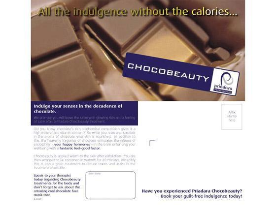 Priadara Chocobeauty postcards (25)