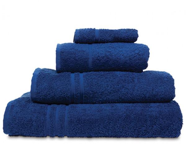 Comfy bath towel, navy blue