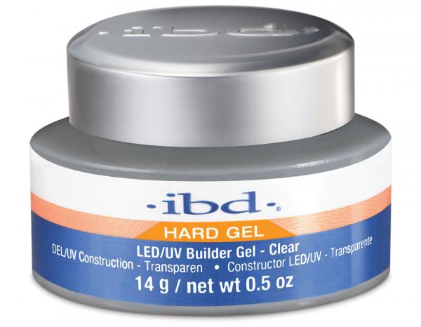 ibd LED/UV builder gel 14g, clear