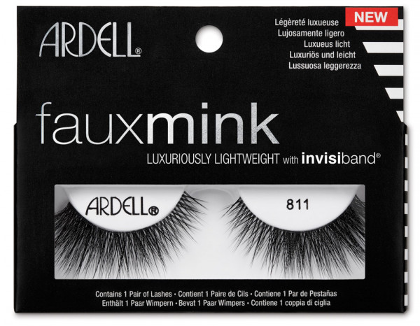Ardell faux mink lashes, 811