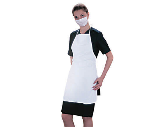 Beauty Essentials therapists plastic apron, large
