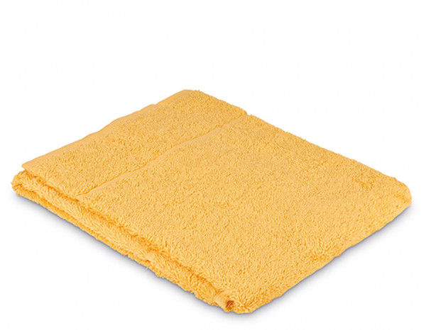 Comfy towelling face cloth, gold