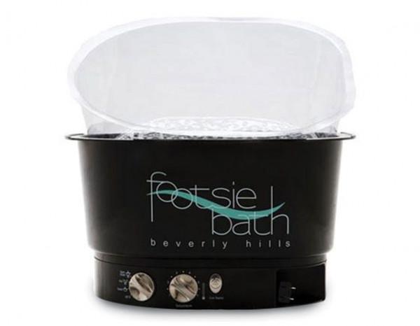 Footsie bath foot spa black