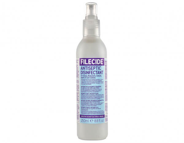 Filecide disinfectant spray 250ml
