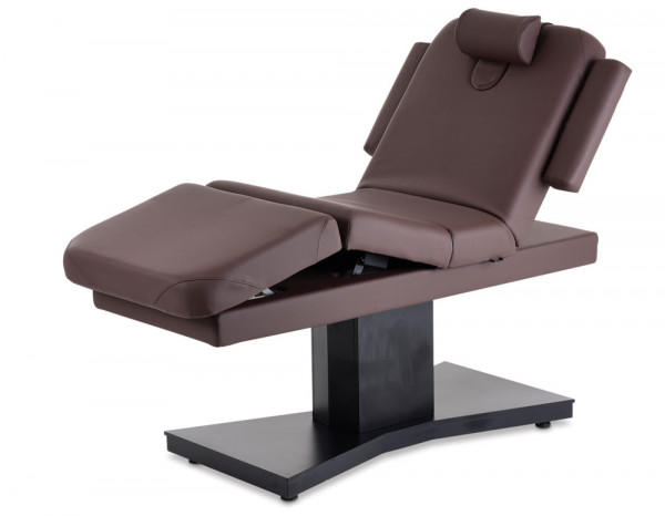 Esthetix luxury spa electric couch, chocolate