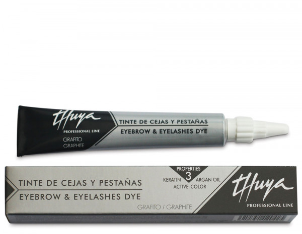 Thuya perfect look eyelash dye 14ml, graphite