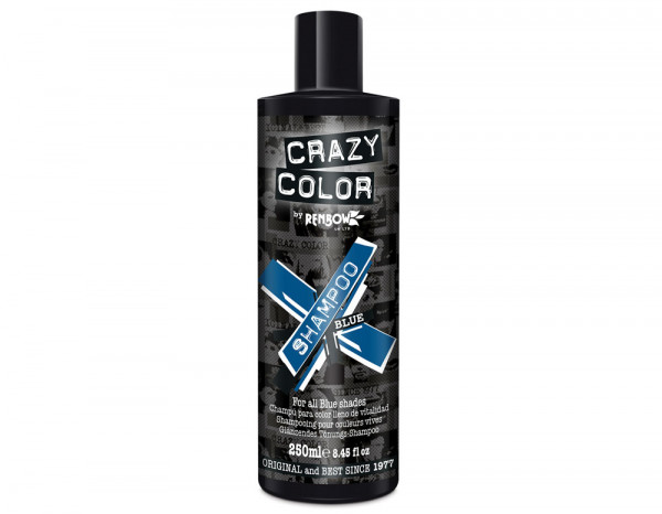 Crazy Color shampoo, blue