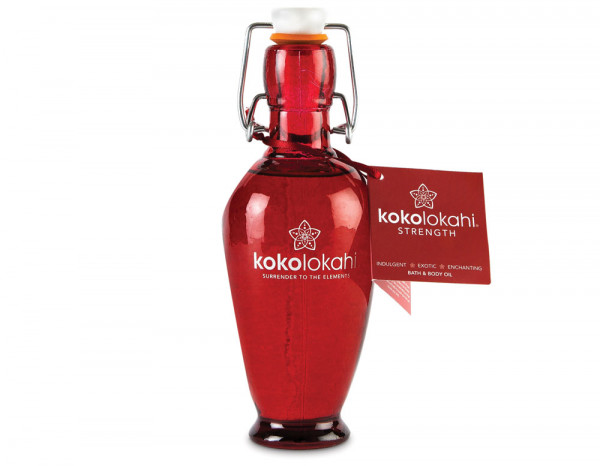 Kokolokahi Strength massage oil 200ml, glass
