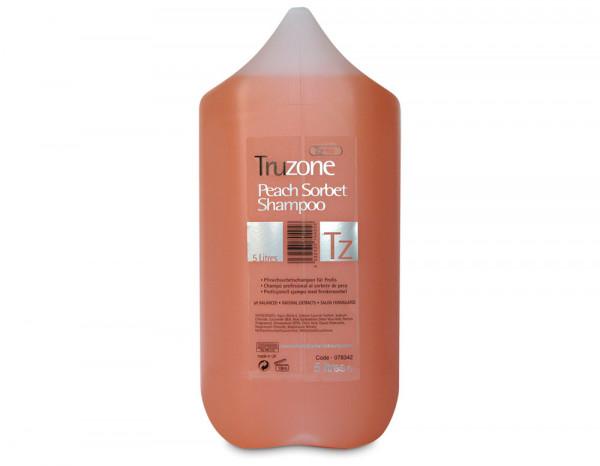 Truzone shampoo peach sorbet 5000ml/176fl.oz