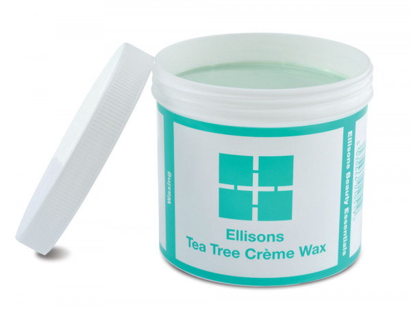 Beauty Essentials tea tree crème wax 425g