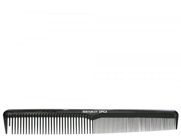 Denman precision classic cutting comb small, black