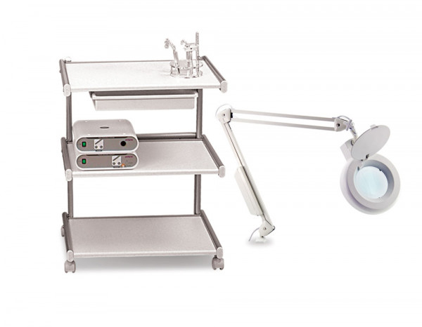 Esthetix trolley and magnifier lamp deal