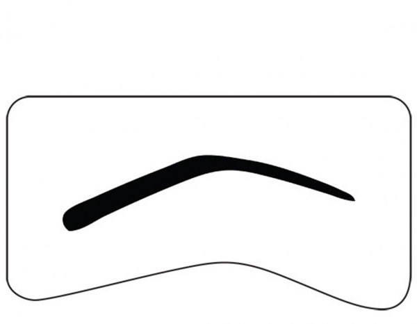 Mistair professional brow templates (8)
