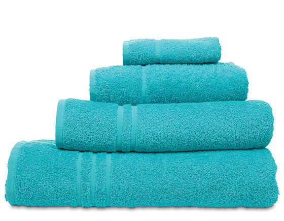 Comfy hand towel, turquoise