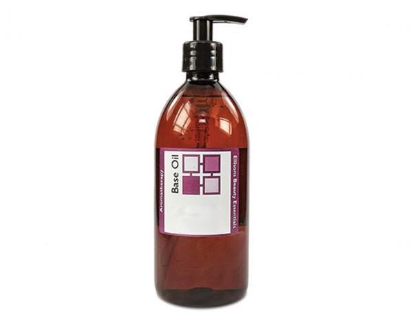 Base oil sweet almond 250ml with pump cap