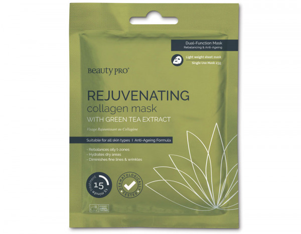BeautyPro rejuvenating collagen mask
