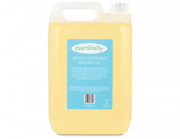 Essentially water dispersible massage oil 5L