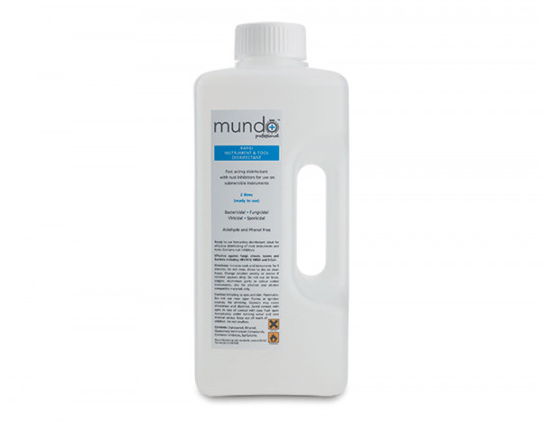 Mundo rapid instrument and tool disinfectant 2L