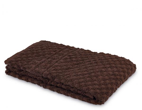 Serenity hand towel, brown