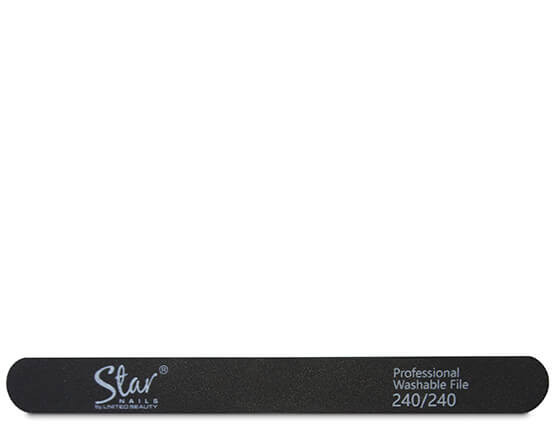Star Nails black foam file, 240 grit(12)