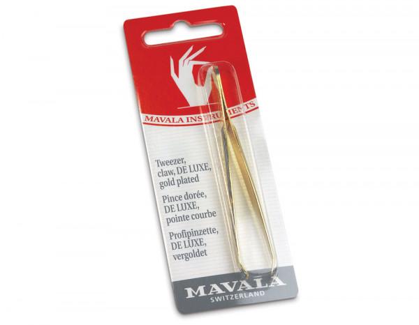 Mavala gold tip claw tweezer, deluxe
