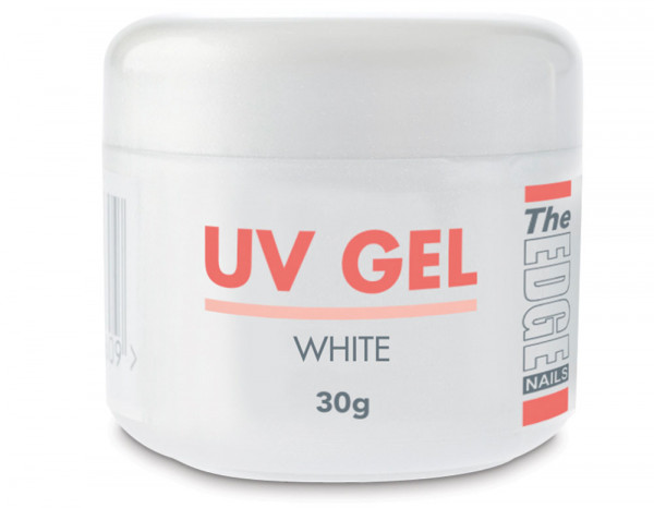 The Edge UV gel 30g, white