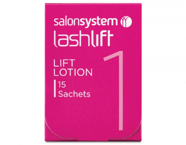 Salon System lashlift lotion sachets (15)
