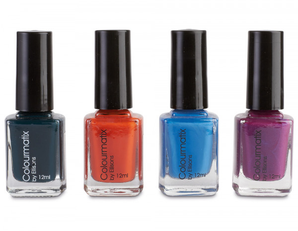 Colourmatix winter and summer polish selection