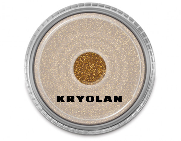 Polyester fine particle glitter 4g, gold