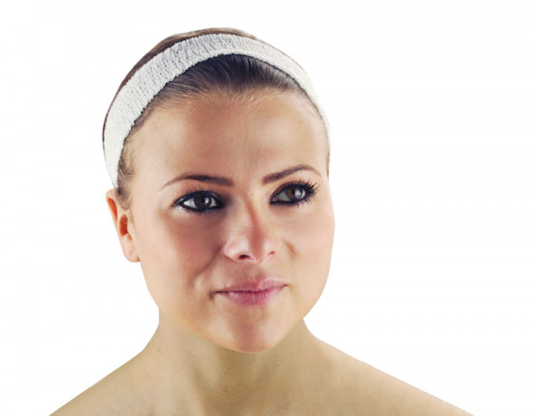 Beauty Essentials disposable headbands,narrow (24)