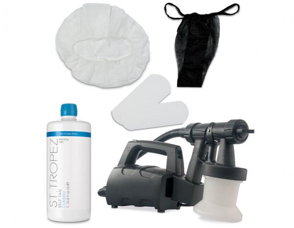 Esthetix Aura elite compact spray tan kit, St.Tropez classic mist