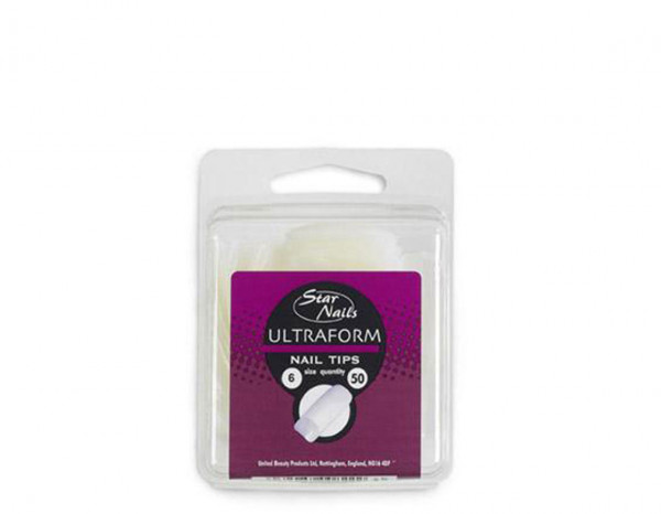 Star Nails ultra form tips, size 06 (50)