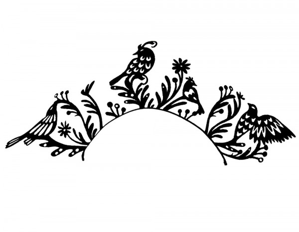 Paperself lashes, birds (1 pair)