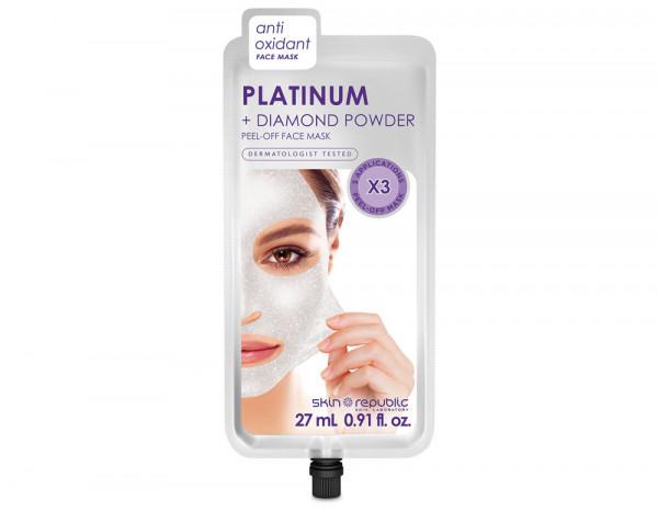 Skin Republic platinum peel off mask