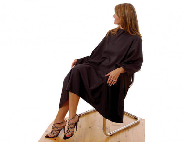 Hair Tools eco-friendly gown with poppers
