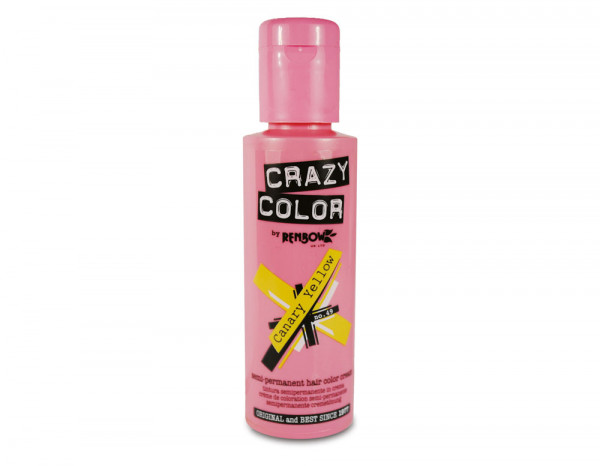 Crazy Color 100ml, 49 canary yellow