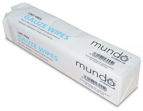 Mundo lint free gauze pads (200)