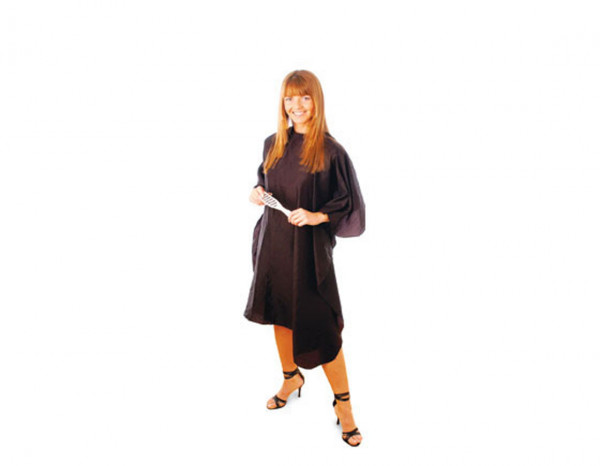 Hair Tools gown economy black velcro fastening