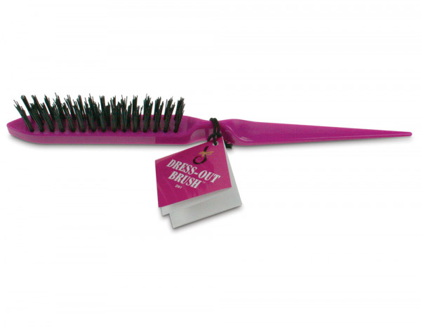 Denman D91 dressing out brush, pink