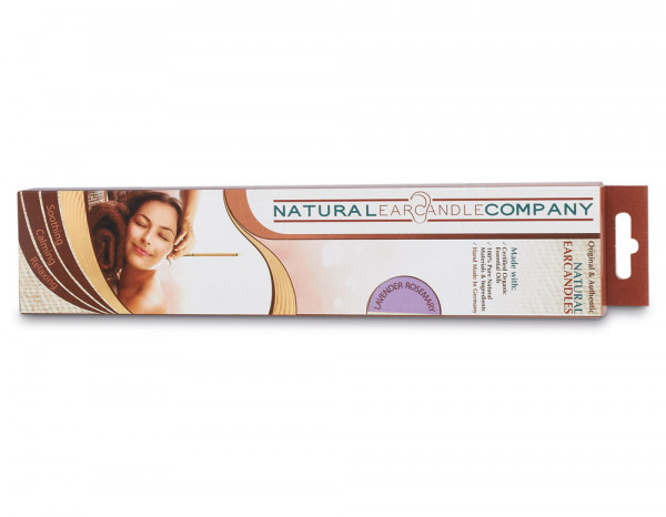 Natural ear candles, lavender and rosemary (2)