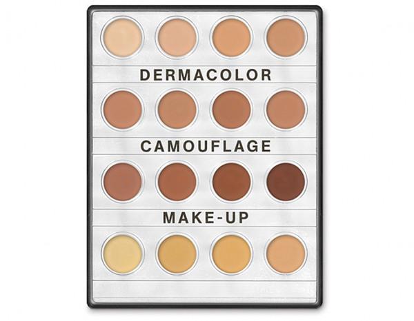 Dermacolor mini palette 16 colours, D1W-D12W