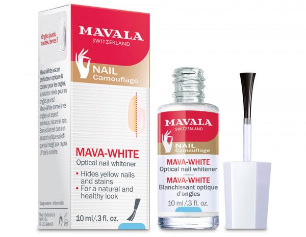 Mavala retail 10ml, mava-white