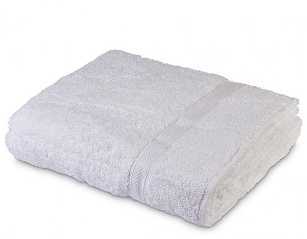 Sumptuous jumbo bath sheet XL, white
