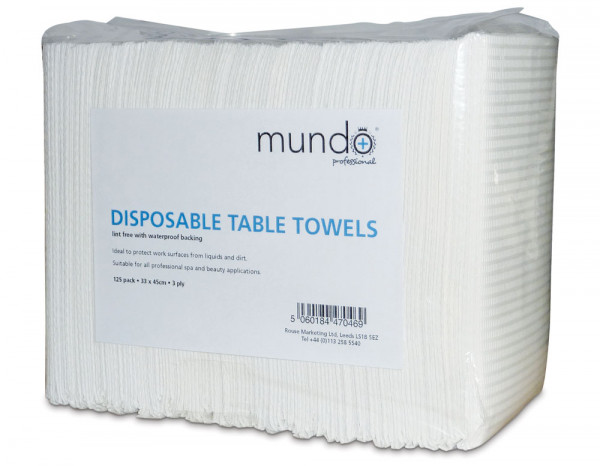Mundo disposable table towels (125)